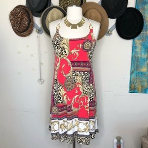 Eva Earro graphic print dress